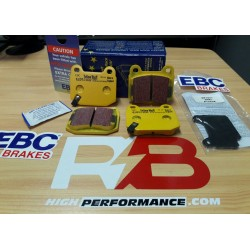 EBC yellowstuff pastillas de freno traseros Caliper Brembo