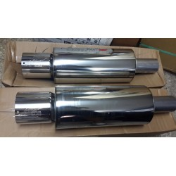 HKS Hi Power tubo de escape muffler 3""